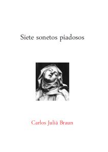 Carlos Juliá Braun, Siete sonetos piadosos