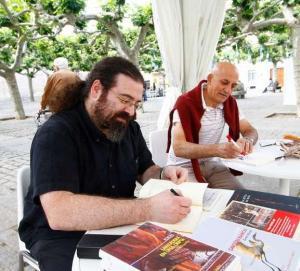 Luis Ingelmo en la Feria del Libro de Zamora, 30/05/2014
