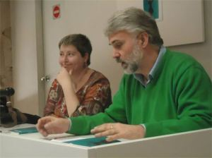 Eduardo Moga y Teresa Domingo Català