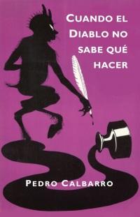 Cubierta de 'Cuando el Diablo no sabe qué hacer', de Pedro Calbarro