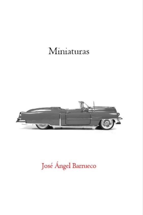 Cubierta de 'Miniaturas' (2021), de José Ángel Barrueco